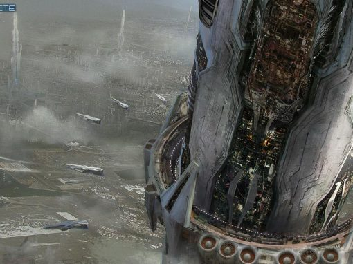 Space Matte Painting