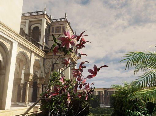 Gardens in Medina